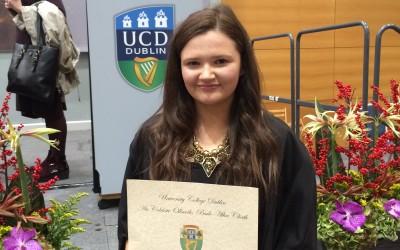 Entrance Scholarship Award to UCD