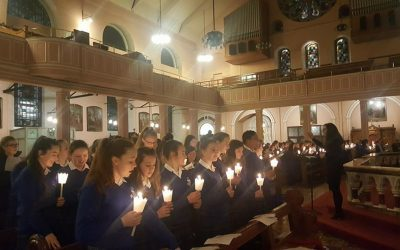 Christmas Carol Service: The Passing of the Light