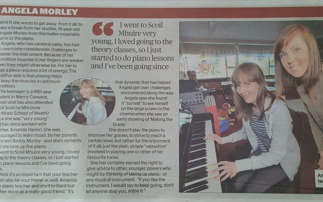 Angela Morley Talks 'Making the Grade'!