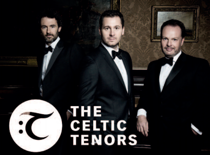 The Celtic Tenors: 25th October