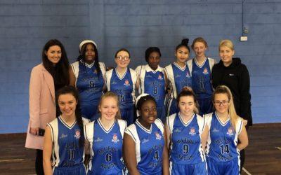 Senior Basketball Team into Semi-Finals
