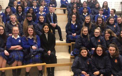 3rd Years Visit Dáil Éireann