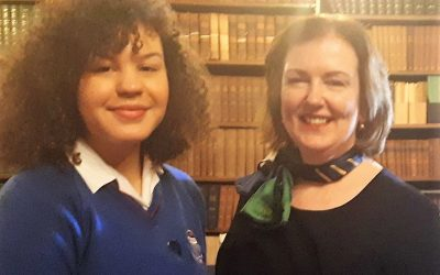 Clodagh to Travel to Greece as part of Action Aid Prize