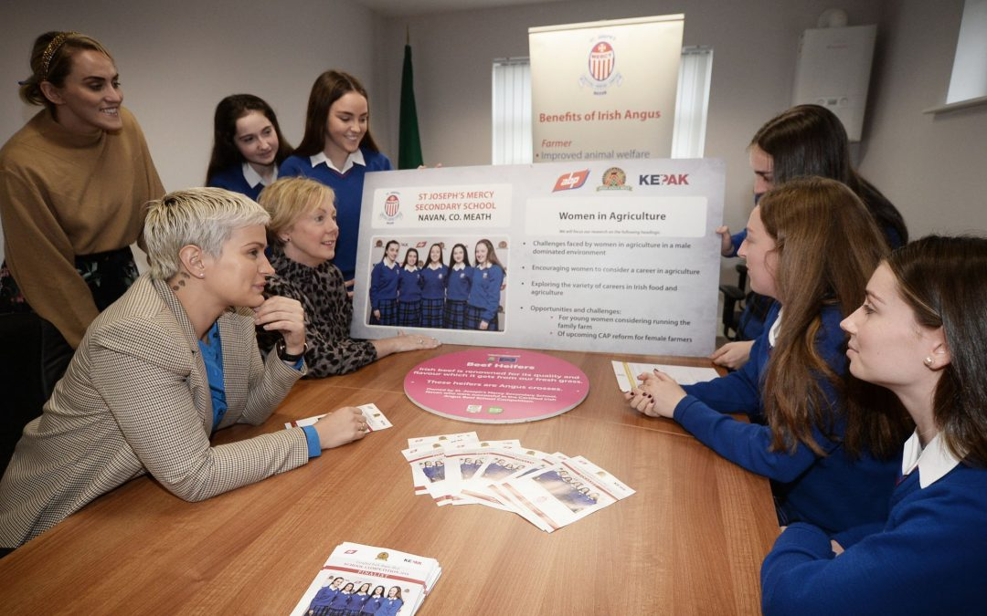 Minister Regina Doherty and MEP Maria Walsh visit Mercy