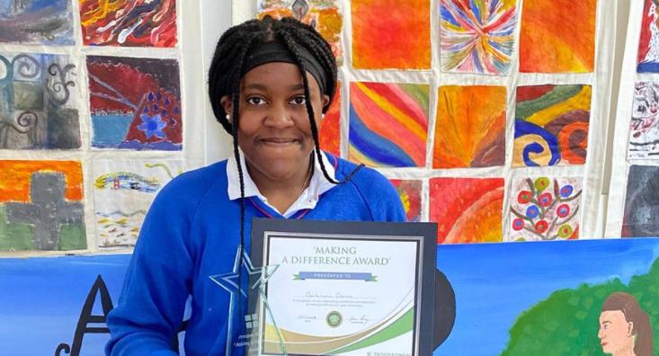 TY Student Awarded Prosper Award